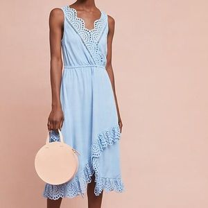 New Anthropologie Tracy Reese blue dress